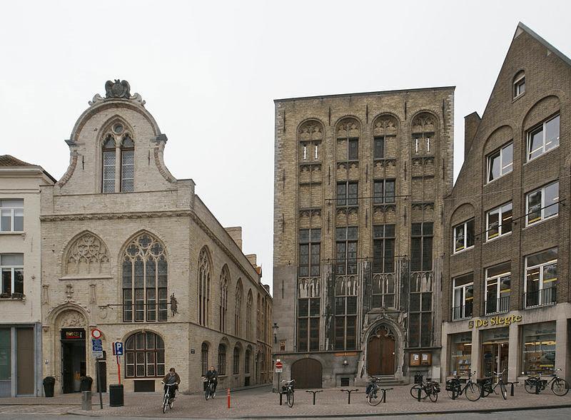 نخستین مرکز معاملات بورس در جهان - ساختمان تاریخی بورس در بلژیک